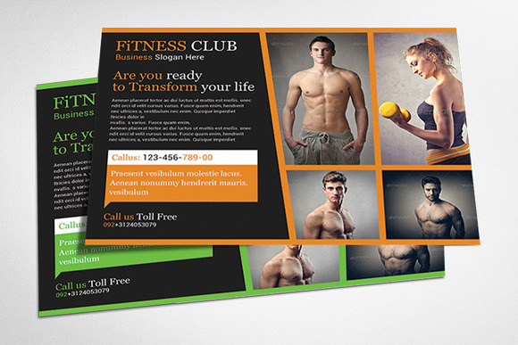 Sport Fitness Flyer Templates