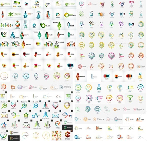 Gigantic Logo Collection