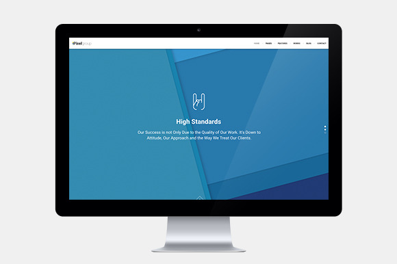 PixelGroup Portfolio WordPress Theme