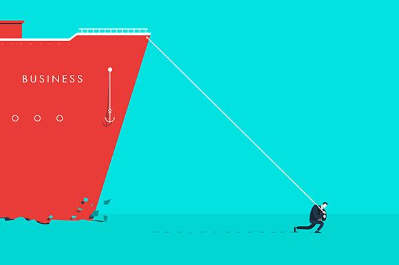 Vector Business Concept Illustration