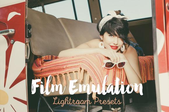 Film Emulation Lightroom Presets Pro