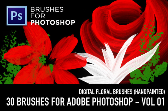 CF Flowers Brushes Vol 01