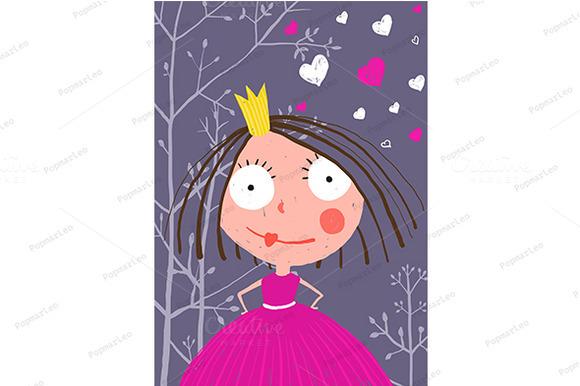 Little Princess In Dark Forest Love