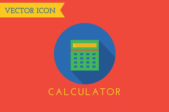 Calculator Icon Vector Logo