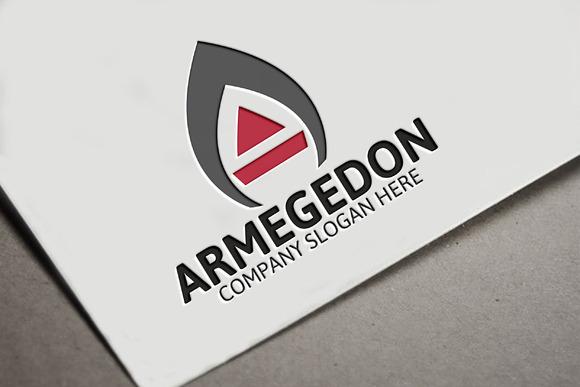 Armegedon A Letter Logo