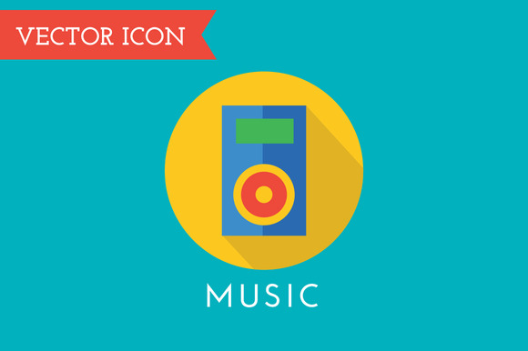 Player Icon Vector Icon Sound Tool