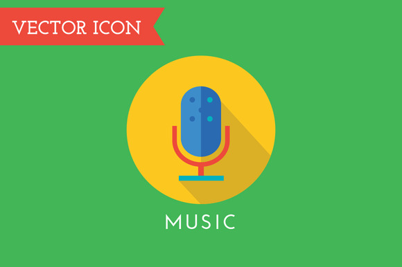 Microphone Icon Vector Icon Sound