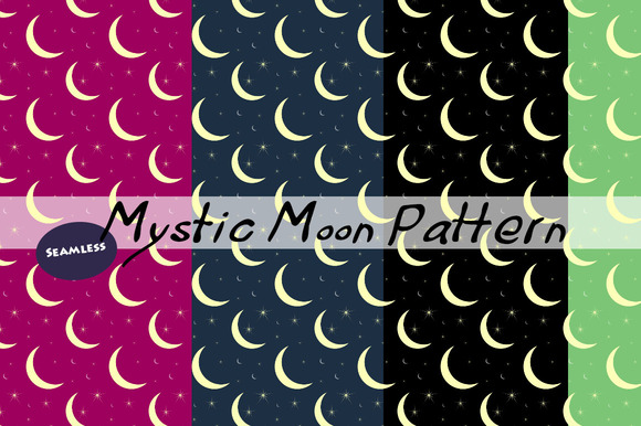 Mystic Moon Pattern