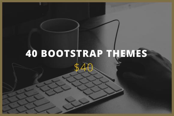 Theme Bundle 40 Bootstrap Themes