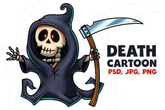 Death Cartoon Character