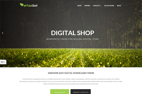 FastSell Shop Wordpress Theme
