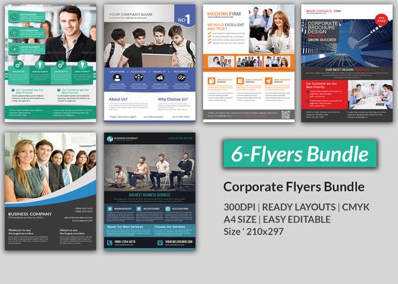 Corporate Flyer Bundle 6 Flyer