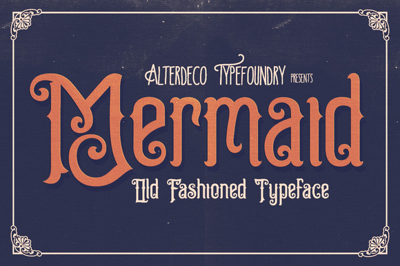 Mermaid Typeface Webfont
