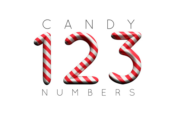 Candy Cane Numbers