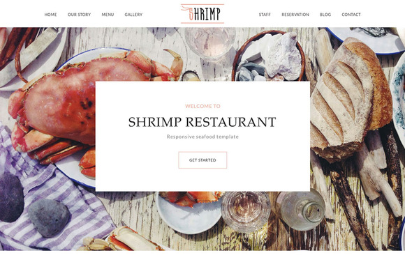 Restaurant Set Template
