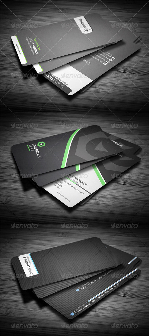 3 In 1 Business Card Bundle #3