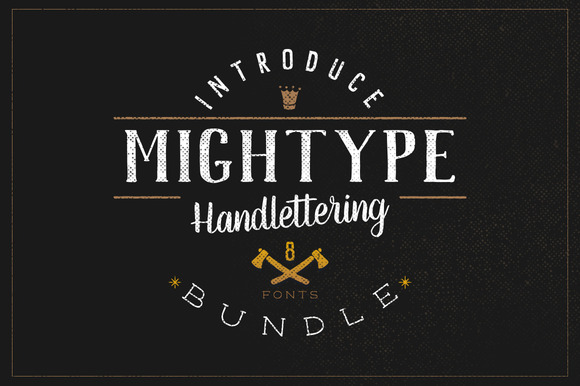 Mightype Font Bundle