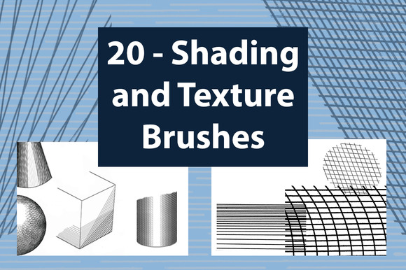 Shading And Texture Brushes