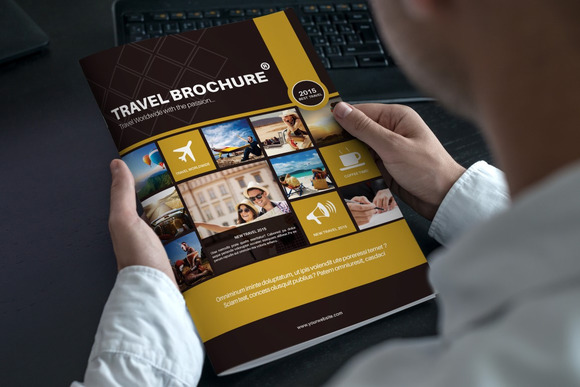 Travel Bi Fold Brochure