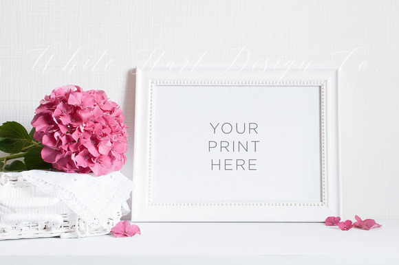 Floral Styled Mock Up Psd Jpeg
