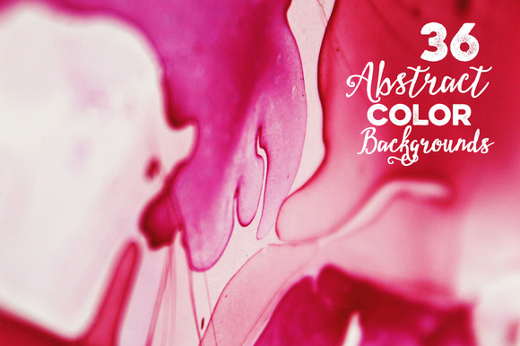 36 Abstract Color Backgrounds