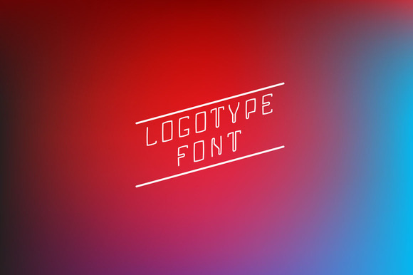 Letters For Logotype Font