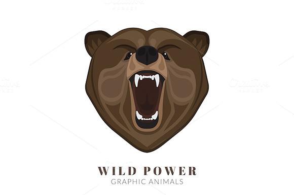 Screaming Vector Bear