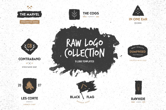 Raw Logo Collection