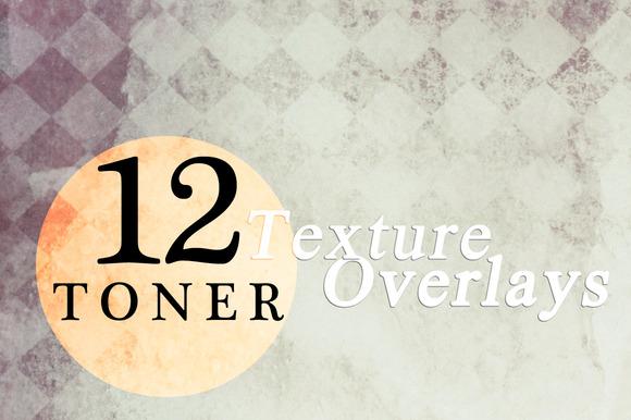 12 Toner Texture Overlays