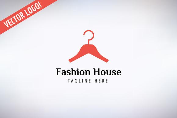 Hanger Vector Logo Icon Style