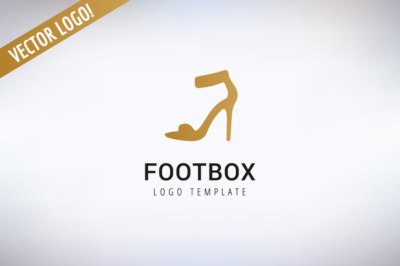 Shoes Vector Logo Template Fashion