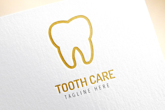 Tooth Icon Vector Health Medical