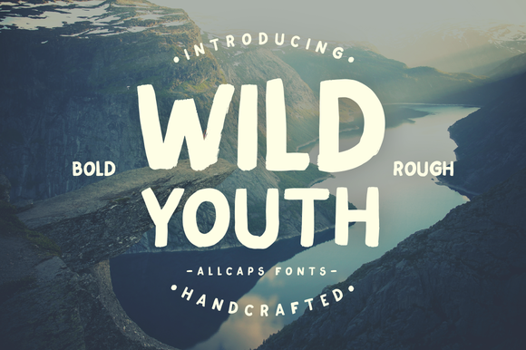 Wild Youth Typeface