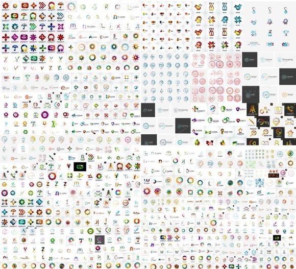 Over 250 Business Logo Designs