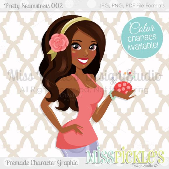 Pretty Seamstress 002- Character