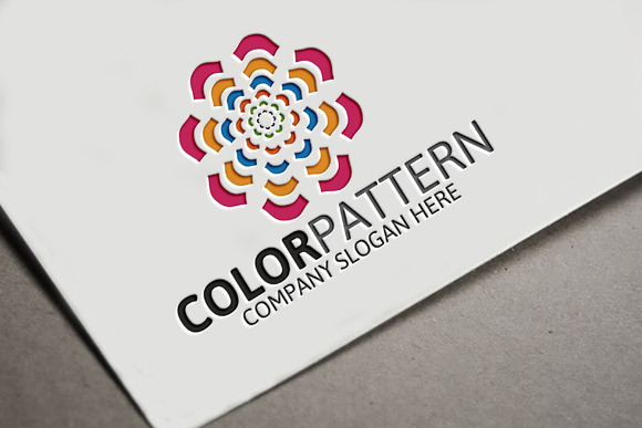 Color Pattern Logo
