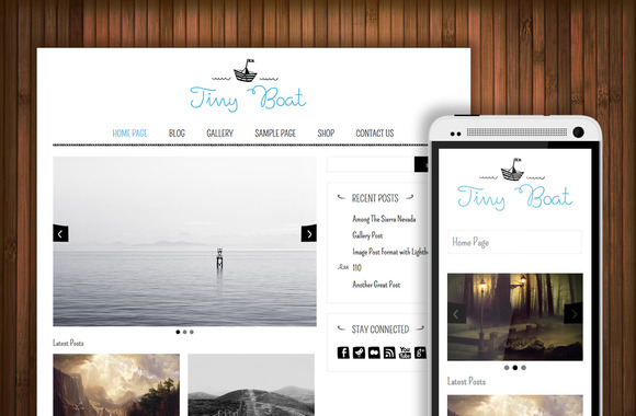 TinyBoat Art Craft WP Theme