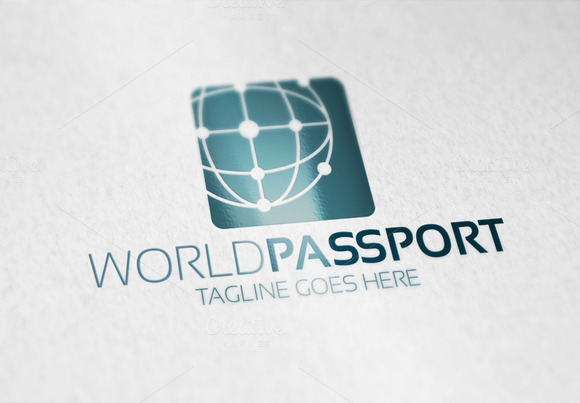World Passport Logo
