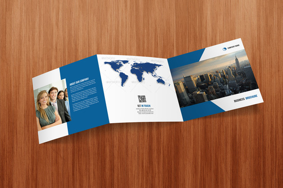 Square Tri- Fold Business Brochure