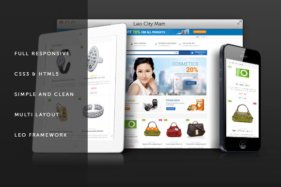 Leo City Mart Prestashop Themes