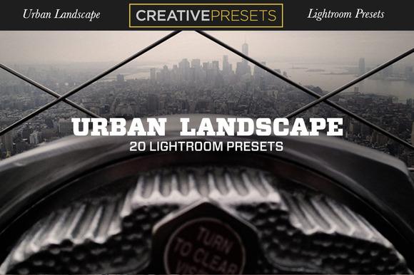 UrbanLandscape ~ 20Lightroom Presets