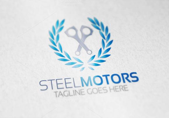 Steel Motors Logo
