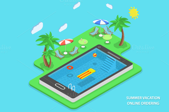 Summer Vacation Online Ordering