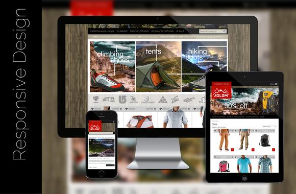 Aslom ECommerce WordPress Theme