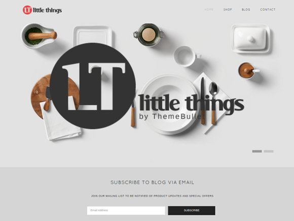 Little Things WordPress Shop Theme