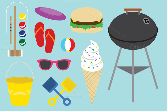Summer Vector Pack