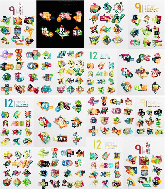 Modern Abstract Geometric Designs