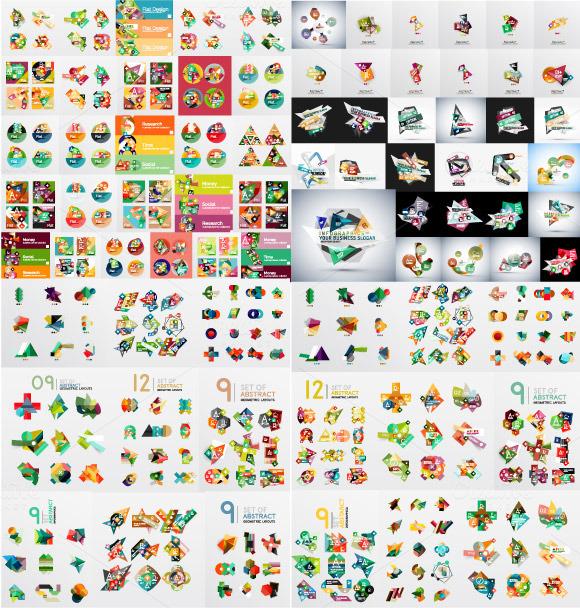 Over 200 Trendy Infographics