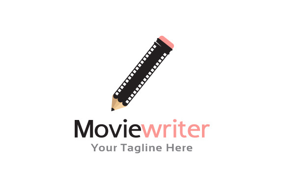 Movie Writer Logo Template