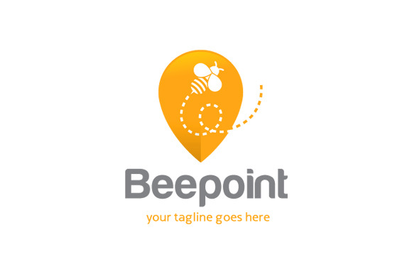 Bee Point Logo Template